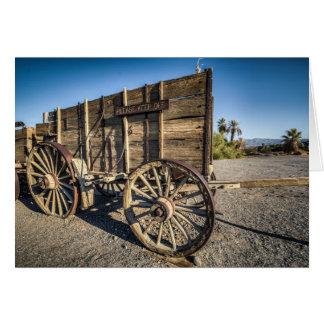 Death valley furnace creek ranch entry wreth carri card