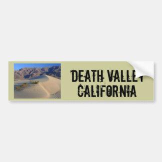 Death Valley la Californie Autocollant De Voiture