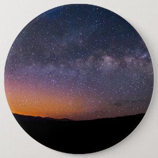 Death Valley milky way Sunset 6 Inch Round Button