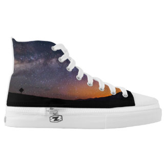 Death Valley milky way Sunset High Tops