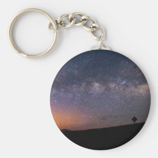 Death Valley milky way Sunset Keychain