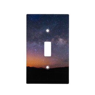 Death Valley milky way Sunset Light Switch Cover