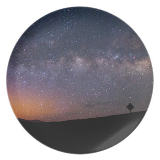 Death Valley milky way Sunset Plate