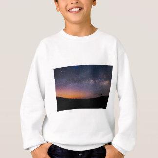 Death Valley milky way Sunset Sweatshirt
