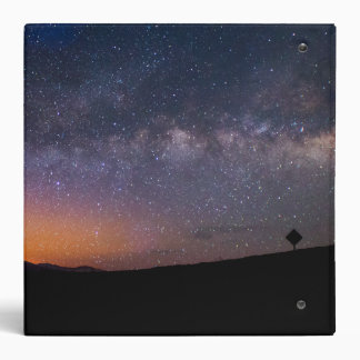 Death Valley milky way Sunset Vinyl Binders