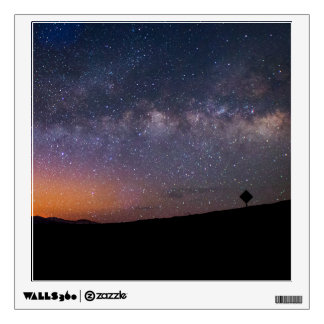 Death Valley milky way Sunset Wall Decal