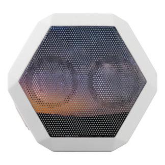 Death Valley milky way Sunset White Bluetooth Speaker