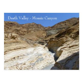 Death Valley/Mosaic Canyon Postcard! Postcard