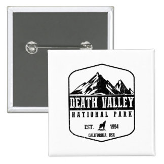 Death Valley National Park 2 Inch Square Button