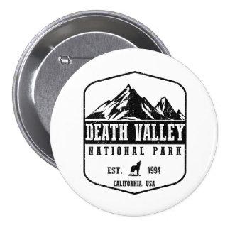 Death Valley National Park 3 Inch Round Button