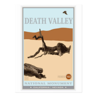 Death Valley National Park 4 Postcard