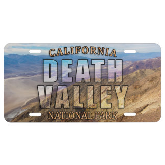 Death Valley National Park License Plate