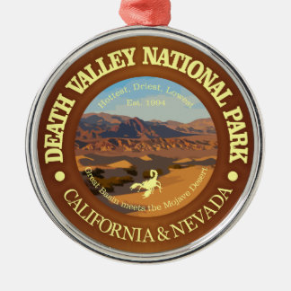 Death Valley National Park Metal Ornament