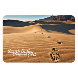 Death Valley National Park Sand Dunes Rectangular Photo Magnet