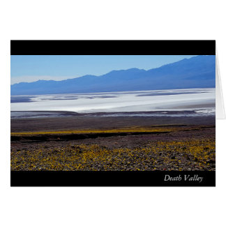 Death Valley Note Card