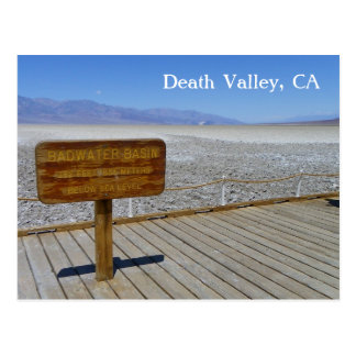 Death Valley Postcard! Postcard