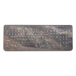 Death Valley Rocks Wireless Keyboard