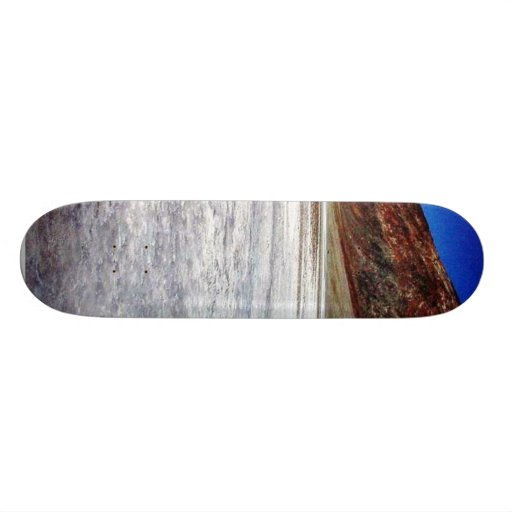 Death Valley Salt Skate Board