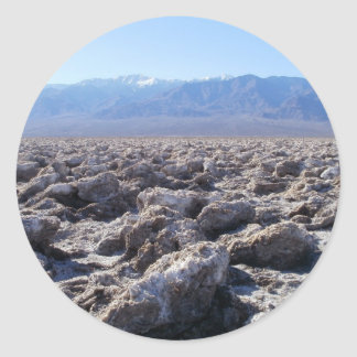 Death Valley Scene 07 Classic Round Sticker