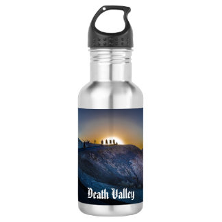 Death Valley zabriskie point Sunset 532 Ml Water Bottle