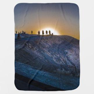 Death Valley zabriskie point Sunset Baby Blanket