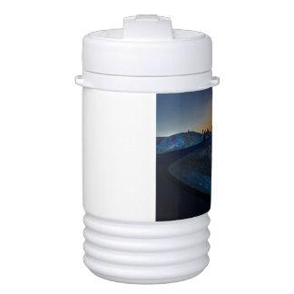 Death Valley zabriskie point Sunset Drinks Cooler