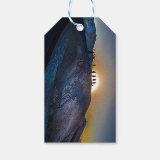 Death Valley zabriskie point Sunset Gift Tags