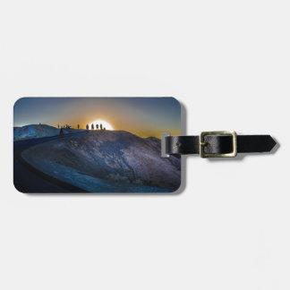 Death Valley zabriskie point Sunset Luggage Tag