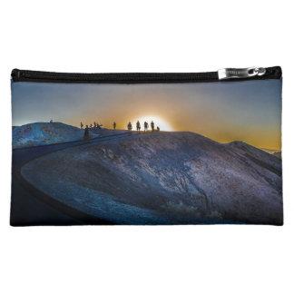 Death Valley zabriskie point Sunset Makeup Bag