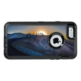 Death Valley zabriskie point Sunset OtterBox Defender iPhone Case