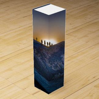 Death Valley zabriskie point Sunset Wine Box