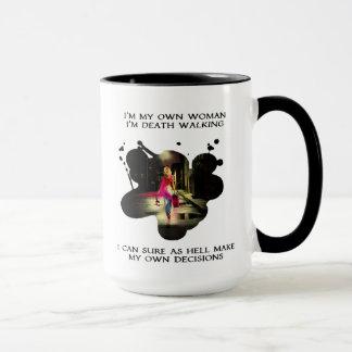 Death Walking 15 oz Ringer Mug