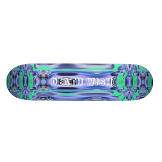 Death Wish Custom Skateboard