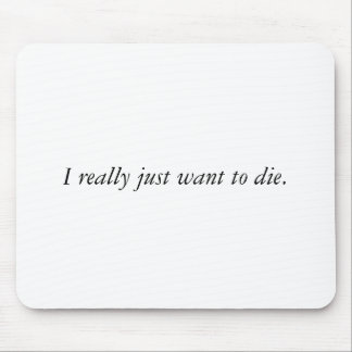 Death Wish Mousepad