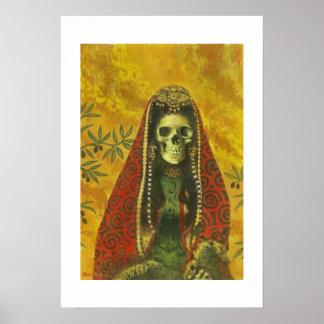 Death Witch Art Print