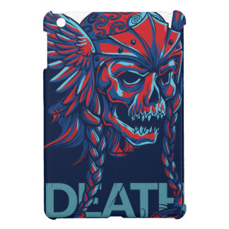 death with flying skull design iPad mini case