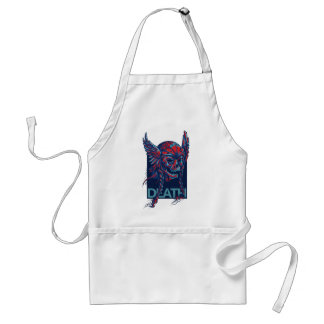death with flying skull design standard apron