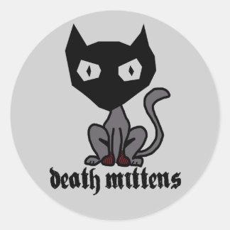 'Deathe Mittens' Sticker
