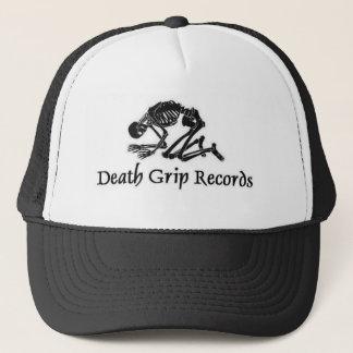 deathgripblacklogo trucker hat