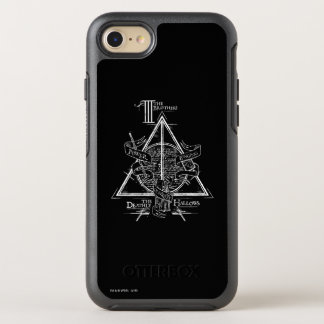 DEATHLY HALLOWS™ Graphic OtterBox Symmetry iPhone 7 Case