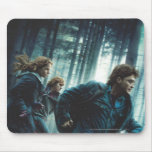 Deathly Hallows - Group Running 2 Mouse Pad