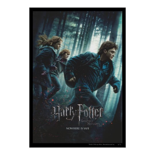 Deathly Hallows - Group Running 2 Poster