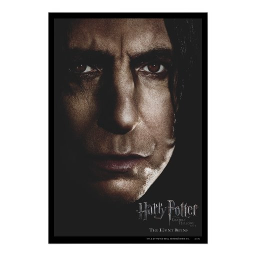 Deathly Hallows - Snape Poster