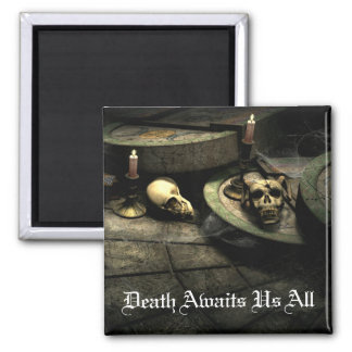 Deaths Domain Gothic Art Magnet