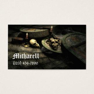 Deaths Domain Gothic Business Card
