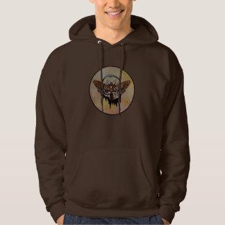 Death's Head Hawk Moth Hoodie