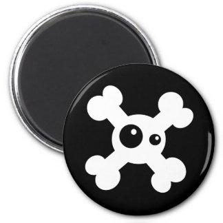 Death's head magnet
