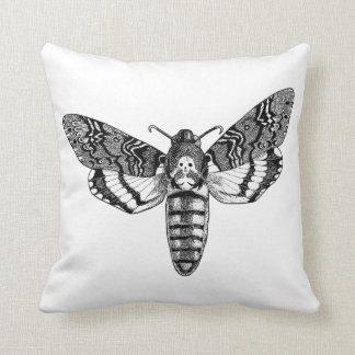 Death's-Head Moth Throw Pillow