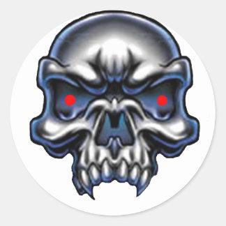 Death's Vampire Classic Round Sticker
