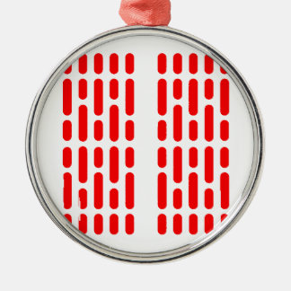 Deathstar Interior Lighting RED ALERT Metal Ornament